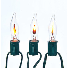 Kurt Adler 10L Flicker Flame Light Set #UL0702