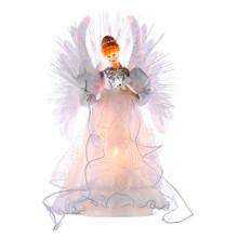 Kurt Adler Multi Light Fiber Optic Angel Tree Top #UL2192