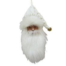 Kurt Adler Snow White Santa Head Ornament #TD1632