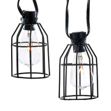 Kurt Adler 10L Iron Cage C7 Light Set #UL4321