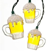 Kurt Adler 10L Beer Mug Light Set #UL0565