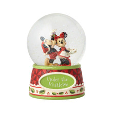 Department 56 by Jim Shore Mickey and Minnie Mouse Snow Globe #4060275