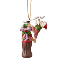 Department 56 by Jim Shore Coca Cola Elf Ornament #6001002