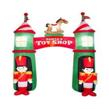 10ft Inflatable Nutcracker Arch