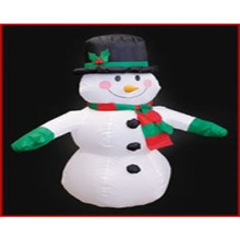 4ft Lited Inflatable Snowman