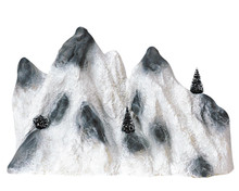 Lemax Village Collection Medium Ski Mountain Backdrop #91021