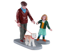 Lemax Village Collection Afternoon Stroll, Set of 2 #02926