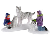 Lemax Village Collection Future Sled Dogs, Set of 2 #02941