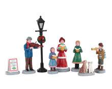 Lemax Village Collection Baily's Music School Carolers Set of 8 #02949