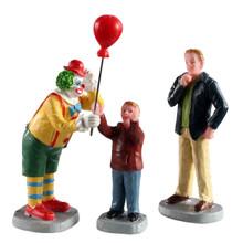 Lemax Village Collection Friendly Clown, Set of 3 #02953