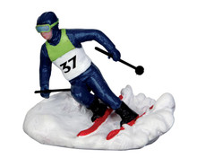 Lemax Village Collection Slalom Racer #32132