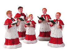 Lemax Village Collection The Choir, Set of 5 #52038