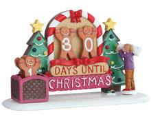 Lemax Village Collection Gingerbread Countdown #93441