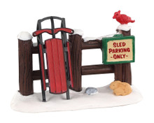 Lemax Village Collection Sled Parking Only #04740