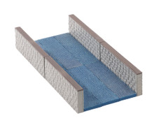 Lemax Village Collection Canal Wall, Set of 10 #04764