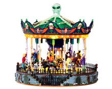 Lemax Village Collection Scary-Go-Round #34605