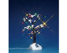 Lemax Village Collection Snowy Dry Tree, Medium, B/O #44784