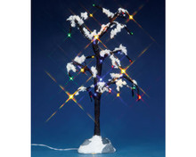 Lemax Village Collection Snowy Dry Tree, Large, B/O #44785