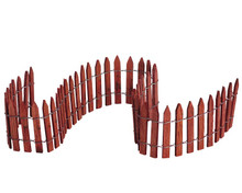 Lemax Village Collection Wired Wooden Fence #84813