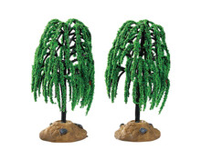 Lemax Village Collection Spring Willow Tree, Set of 2 #94548