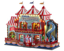 Lemax Village Collection Circus Funhouse #05616