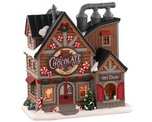 Lemax Village Collection For The Love of Chocolate Shop #05621