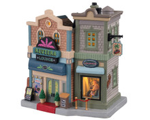 Lemax Village Collection The Riviera Lounge #05640
