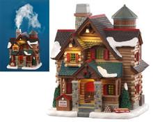 Lemax Village Collection Chestnut Cabin #05641