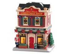 Lemax Village Collection Star of Wonder Christmas Shop #05646