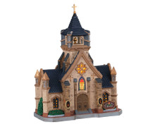 Lemax Village Collection Beacon Hill Chapel #05672