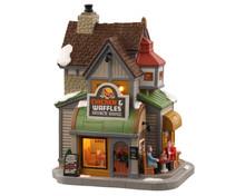 Lemax Village Collection Chicken & Waffles Brunch House #05688