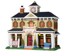Lemax Village Collection Hartford Falls Town Hall #25352