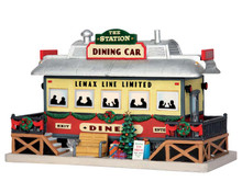 Lemax Village Collection The Station Dining Car #55975