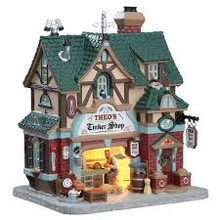 Lemax Village Collection Theo's Tinker Shop #75247