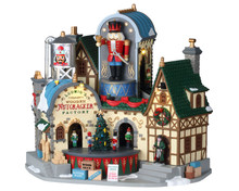 Lemax Village Collection Ludwig's Wooden Nutcracker Factory, #95463