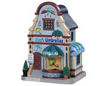 Lemax Village Collection Elsa's Umbrellas #95496