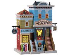Lemax Village Collection Brownstone Café #95518