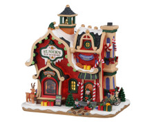 Lemax Village Collection St. Nick's Elf Academy, B/O #95530