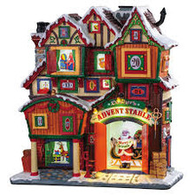 Lemax Village Collection Dasher's Advent Stable, B/O #95569
