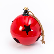 Metal Jumbo Red Jingle Bell