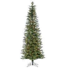 9ft Natural Cut Slim Jackson Pine with Clear Lights