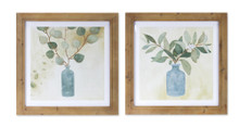 Set of 2 Framed Foliage Print