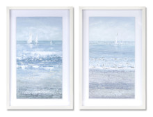 Set of 2 Framed Ocean Print