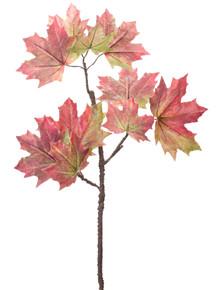 Set of 12 Maple Leaf Spray Pick