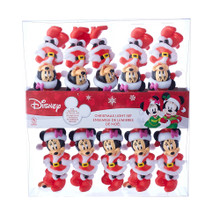 This UL 10-Light Minnie Mouse Light Set from Kurt Adler is a fun and festive addition to any holiday decoration! Perfect for Disney fans, this light set features light covers designed after Minnie Mouse dressed like Santa Claus! This set is for both indoor and outdoor use.