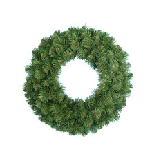 This 30-in Kurt Adler Virginia Pine wreath is a beautiful, festive way to add to your holiday decoration. Features a bright green wreath with long thick pine needles. Perfect for doors or other areas of your home in need of a little extra dash of holiday cheer.
