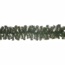 """This Kurt Adler 9'x12"""" Virginia Pine Garland is a beautiful, festive way to add to your holiday decoration. Perfect for mantles or any large area of your home that needs a little extra holiday cheer, this garland has a thick green design with 175 tips for a realistic look."""