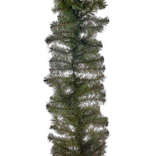 """This Kurt Adler 9'x14"""" Virginia Pine Garland is a beautiful, festive way to add to your holiday decoration. Perfect for mantles or any large area of your home that needs a little extra holiday cheer, this garland has a thick green design with 220 tips for a realistic look."""