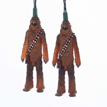 This 10-Light Star Wars Chewbacca Light Set from Kurt Adler is a fun addition to any holiday decoration! Perfect for Star Wars fans and collectors, each of the 10 light covers in this set is modeled after Han Solo's Wookie pal, Chewbacca, in full body form. For both indoor and outdoor use.