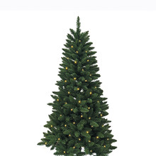 Don't have enough time to decorate your Christmas tree this year? That's okay – with this Kurt Adler 4.5-ft Pre-Lit Green Pine Tree, you won't need to worry about putting on the light sets! With 200 clear UL-approved lights, 350 tips, a 32-in girth, and a metal stand, this green pine tree is the perfect size for and addition to your holiday decoration. With a couple of ornaments and a treetop, the feel of Christmas will soon be here.